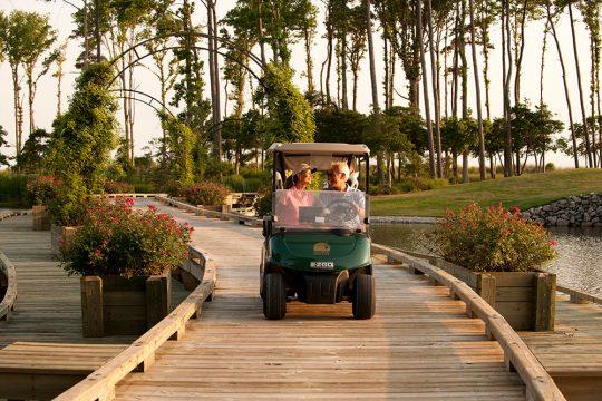 Couple-on-Golf-Cart